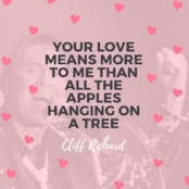 Love February Cliff Richard