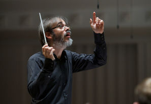 Ilan Volkov Conducting At Tectonics Glasgow Credit Bbc Alex Woodward