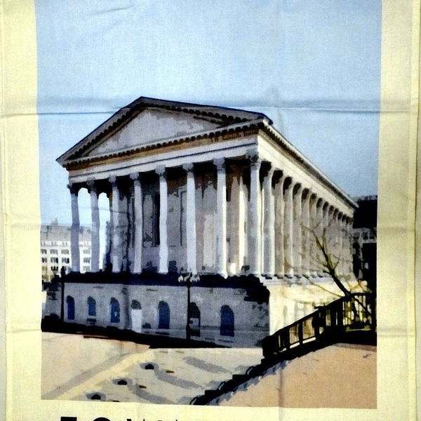 28 Town Hall Tea Towel